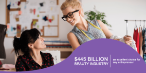 booming beauty industry