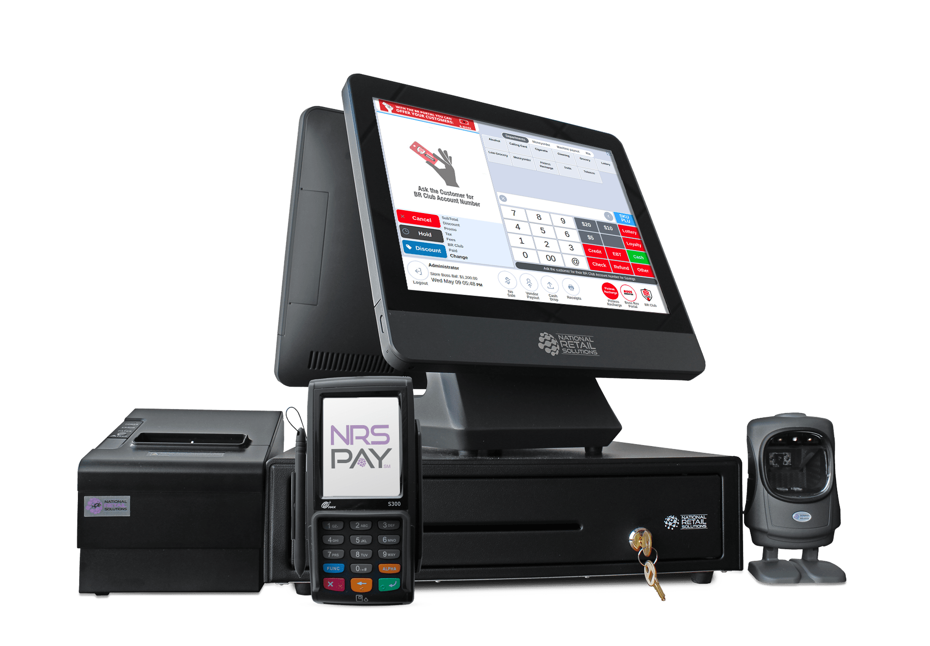 How to Set Up Your NRS POS+ System